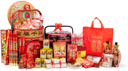 teochew betrothal set